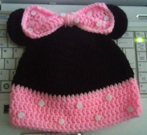 Minnie Mouse Hat