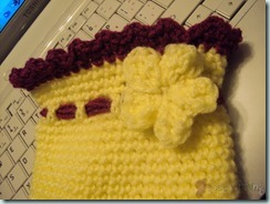 Flower Crochet Purse4